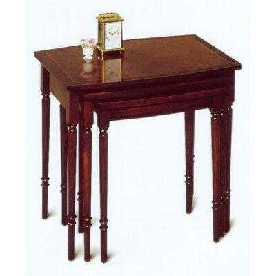 Prestington Tarporley Barrel Top 3 Piece Nest of Tables
