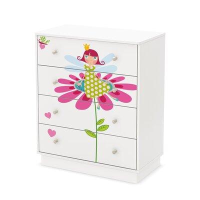 Prestington Marpole 4 Drawer Dresser