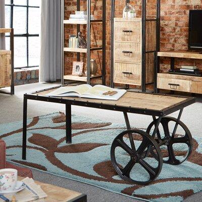Borough Wharf Canonero Coffee Table with Wheels