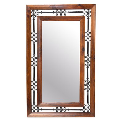 Prestington Jali Rectangle Mirror