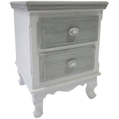 ChâteauChic 2 Drawer Side Table