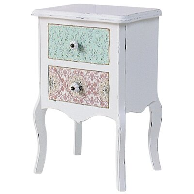 ChâteauChic Paisley 2 Drawer Side Table