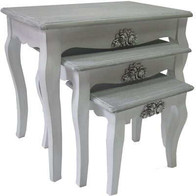 ChâteauChic Rome 3-Piece Nesting Table