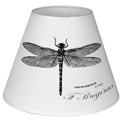 ChâteauChic 25cm Oui Cotton Empire Lamp Shade