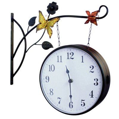 ChâteauChic Energicus Double Sided Hanging Clock