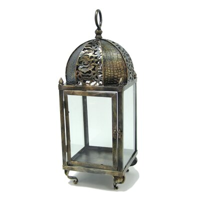 ChâteauChic Energicus Steel and Glass Lantern