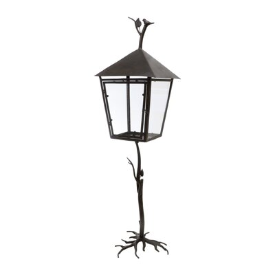 Château Chic Energicus Steel and Glass Lantern