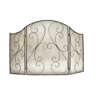 Château Chic Energicus Steel Fireplace Cover