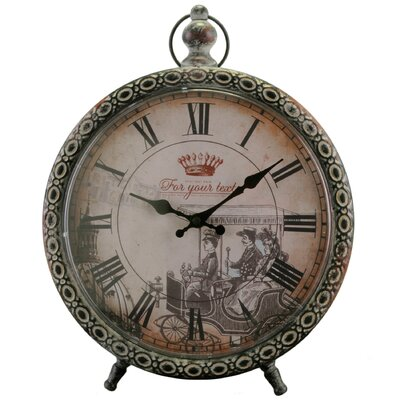 ChâteauChic Energicus Table Clock