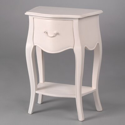 Château Chic Naples 2 1 Drawer Bedside Table