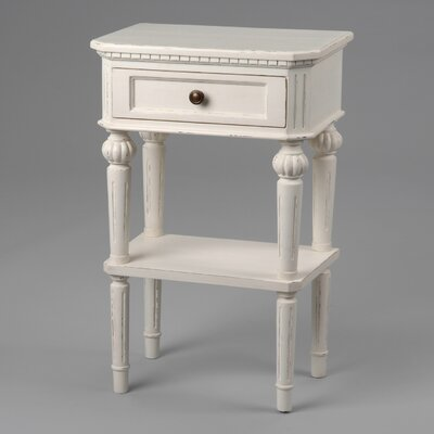Château Chic Parma 1 Drawer Bedside Table