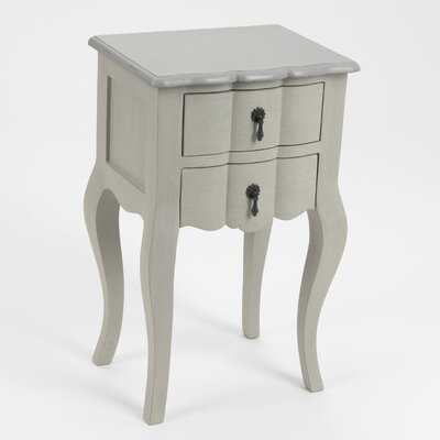 ChâteauChic Verona 2 Drawer Bedside Table