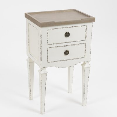 ChâteauChic Turin 2 Drawer Bedside Table