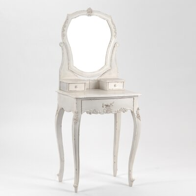 Château Chic Sardinia Vanity with Mirror