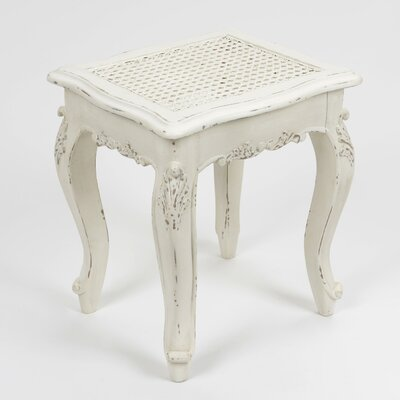 Château Chic Sardinia Dagobert Wood Dressing Table Stool