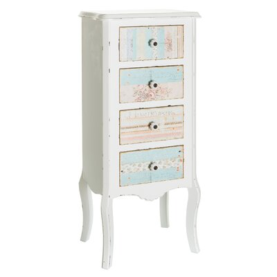 Château Chic Kindly Kindle 4 Drawer Chest