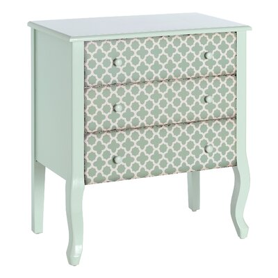 Château Chic Il Amore 3 Drawer Chest