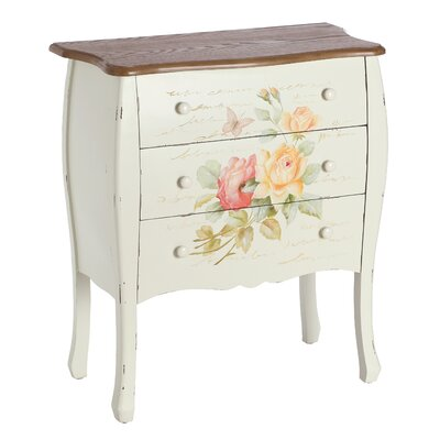 Château Chic II Amore 3 Drawer Chest