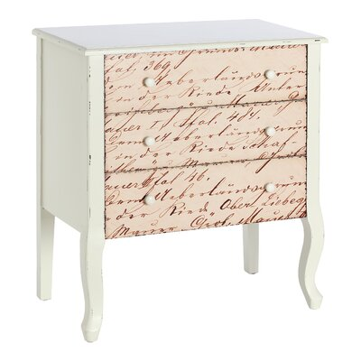 ChâteauChic Il Amore 3 Drawer Chest