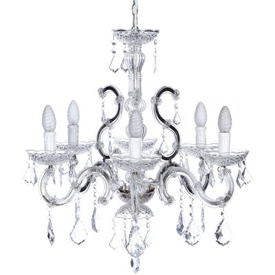 Château Chic 6 Light Mini Chandelier