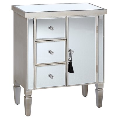 Château Chic In Modernico 3 Drawer 1 Door Chest