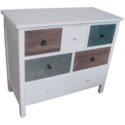 ChâteauChic Retro 6 Drawer Chest of Drawers
