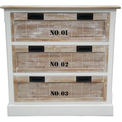 ChâteauChic Riviera 3 Drawer Chest of Drawers