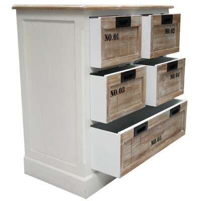 ChâteauChic Riviera 5 Drawer Chest of Drawers