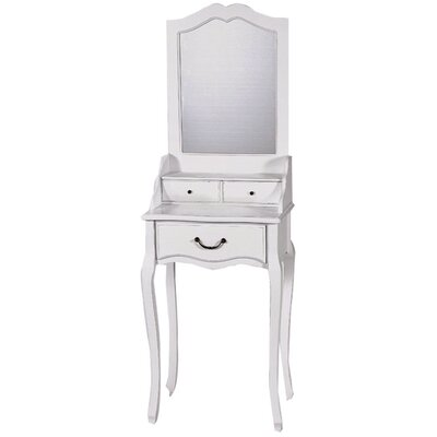 ChâteauChic Meridian Dressing Table with Mirror