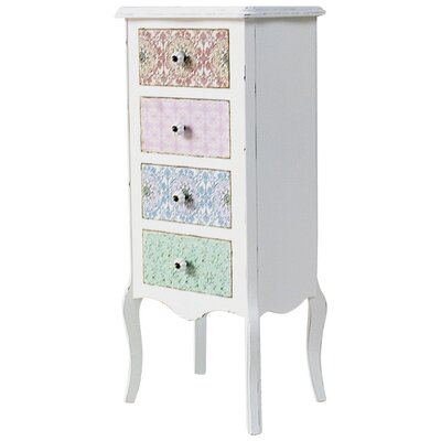 Château Chic Paisley 4 Drawer Chest of Drawers