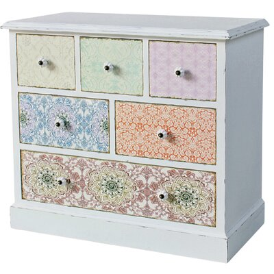 ChâteauChic Paisley 6 Drawer Chest of Drawers