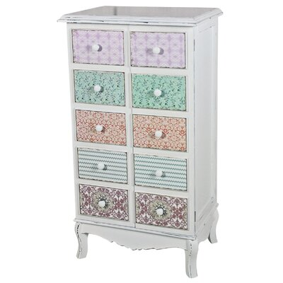 ChâteauChic Paisley 10 Drawer Chest of Drawers