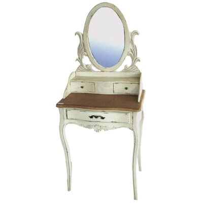 ChâteauChic Toscana Dressing Table with Mirror