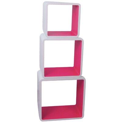 ChâteauChic Cubic 3-Piece Bookshelf Set