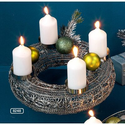 ChâteauChic Advent Metal Candlestick