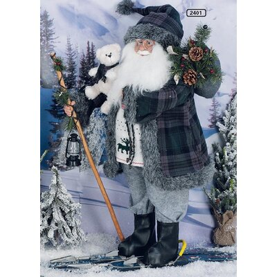 ChâteauChic Papa Noël Santa Figurine