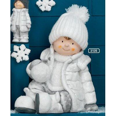 ChâteauChic Snowgirl Decorative Accent