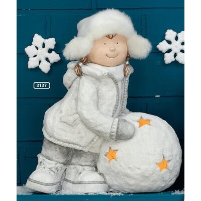 ChâteauChic Snowgirl Figurine