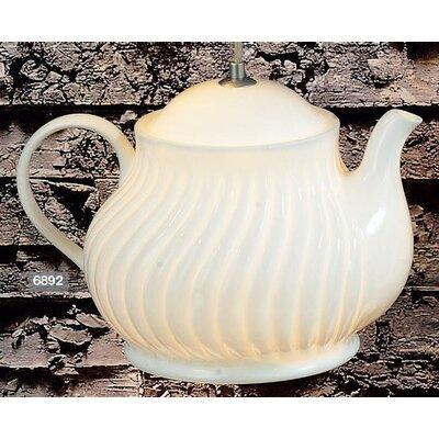 ChâteauChic Tea Pot 1 Light Pendant