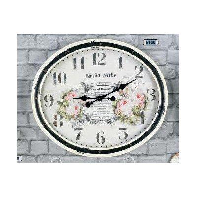 ChâteauChic Rosen XXL Analogue Wall Clock