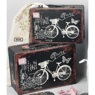 ChâteauChic Vélo Storage Chest Set