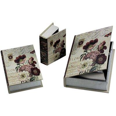 ChâteauChic Fleur Book Chest Set