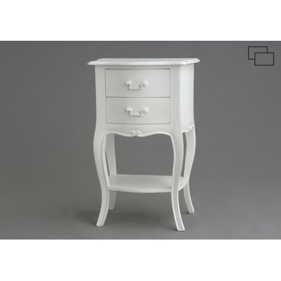 ChâteauChic Bologna 2 Drawer Bedside Table