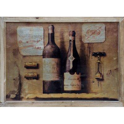 ChâteauChic Winemaker's 3D Vintage Advertisement