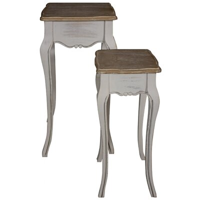 ChâteauChic Louisa 2 Piece Nest of Tables