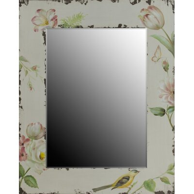 Château Chic Summer Loving Distressed Wall Mirror