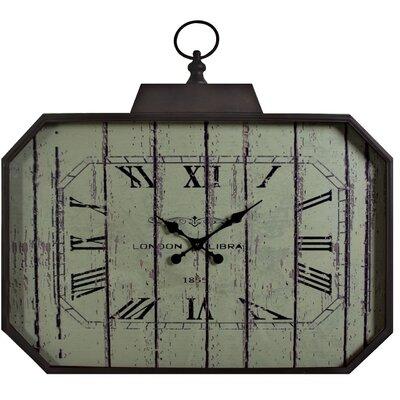 ChâteauChic London Hexagonal Script Clock