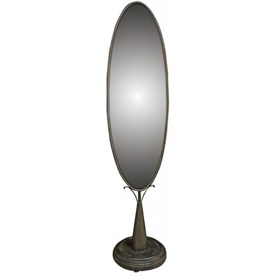 Château Chic Oval Standing Floor Mirror
