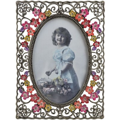 ChâteauChic Pretty Flowers Photo Picture Frame