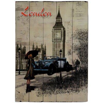 ChâteauChic London Graphic Art Plaque